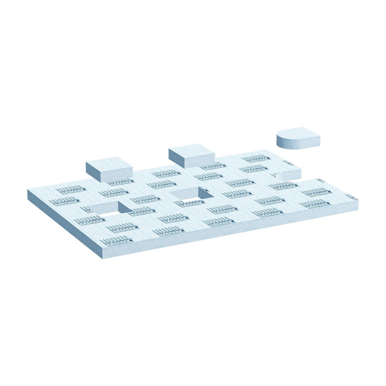 sur l vation pour receveur carreler x cm lux elements leroy merlin. Black Bedroom Furniture Sets. Home Design Ideas