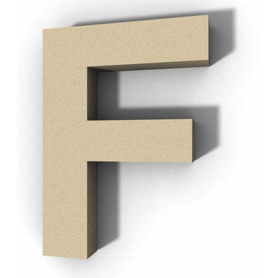 lettre bois majuscule f 12 cm x 12 cm leroy merlin. Black Bedroom Furniture Sets. Home Design Ideas