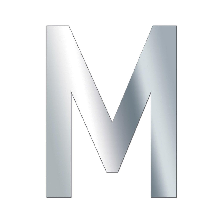 Lettre miroir majuscule m 10 x 10 cm leroy merlin - Lettre de motivation leroy merlin ...
