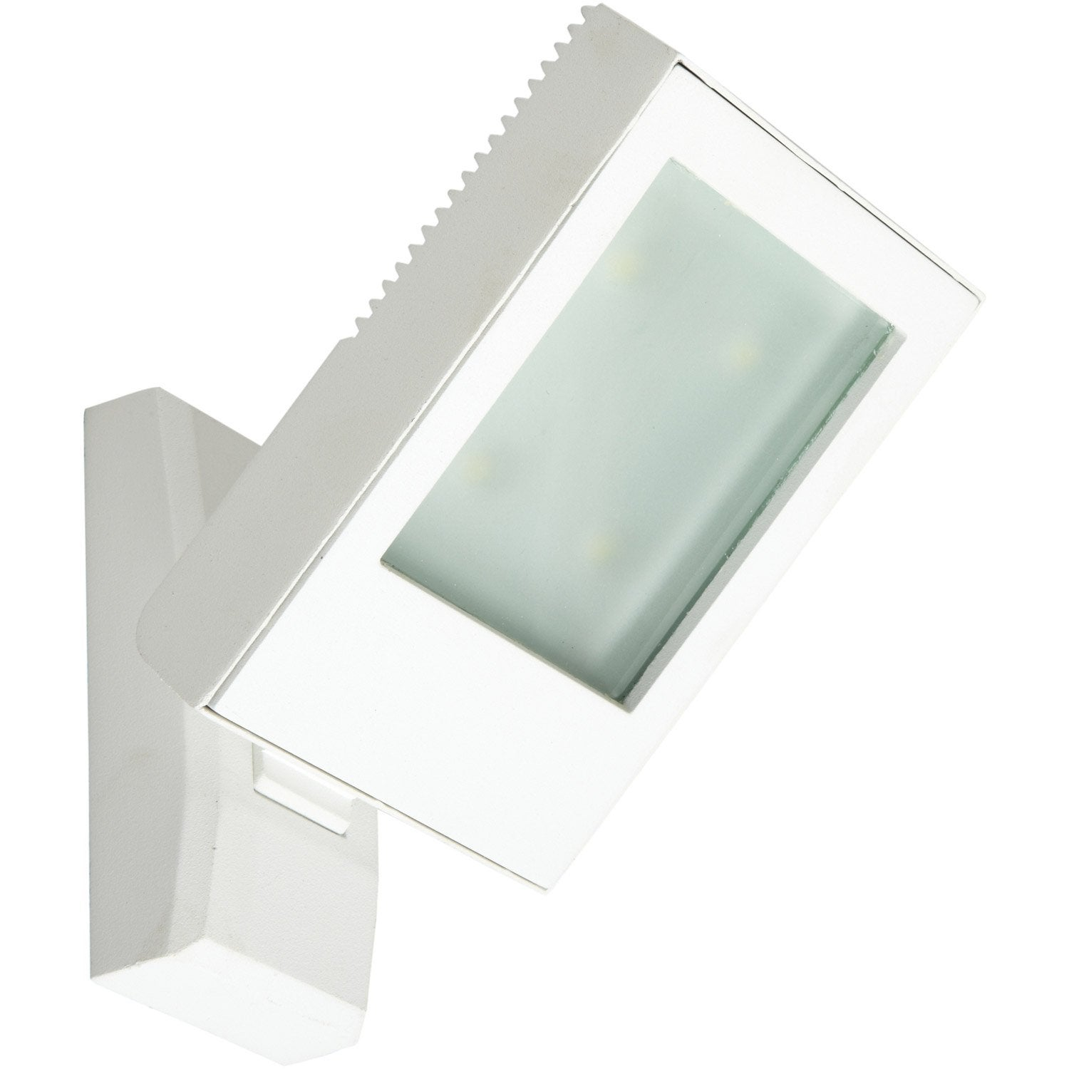 Applique montante ext rieure jade led int gr e blanc for Applique murale exterieur led leroy merlin