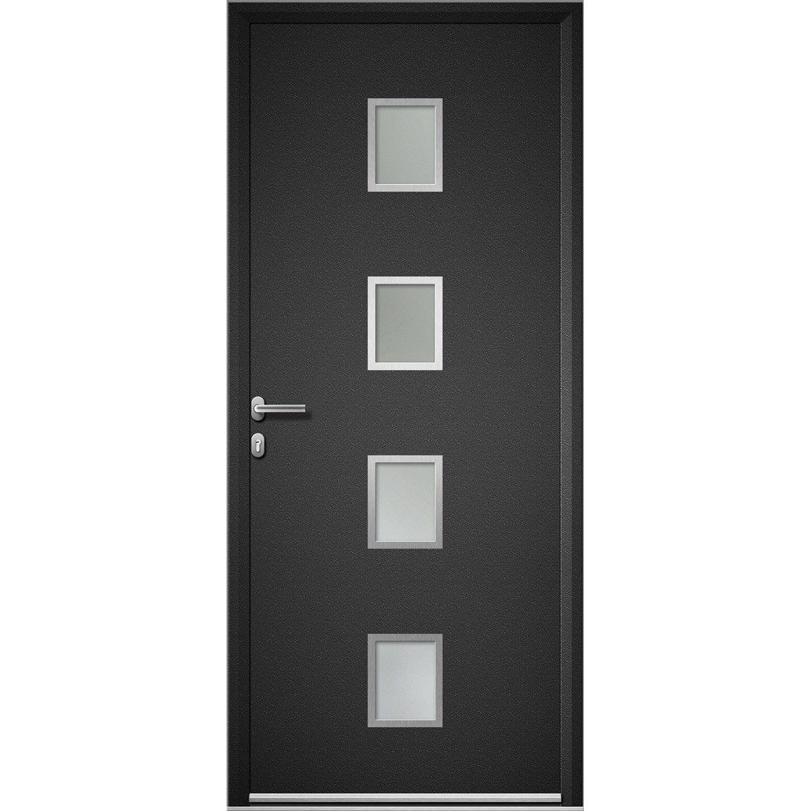 Leroy merlin porte entree alu maison design - Porte aluminium leroy merlin ...
