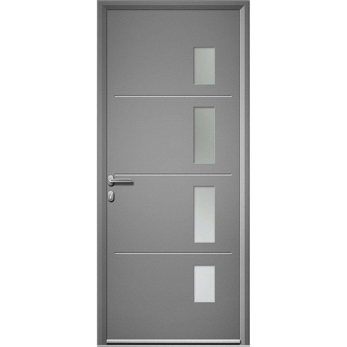Leroy merlin porte entree alu maison design - Portes entree leroy merlin ...