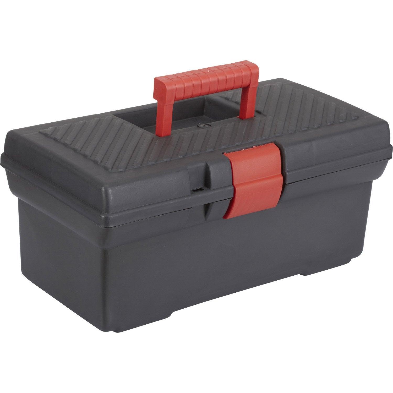 Bo te outils en plastique 41 4 cm leroy merlin - Leroy merlin boite rangement ...