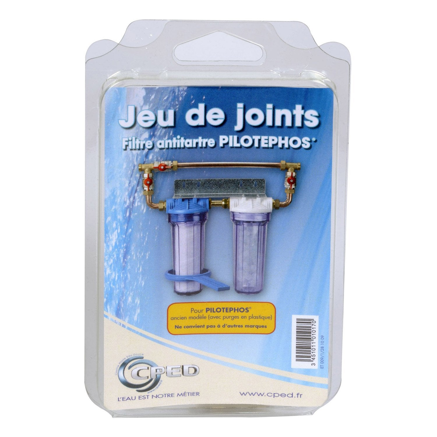 Lot de 2 joints pour filtre anti tartre pilotephos centre for Joint filtre piscine