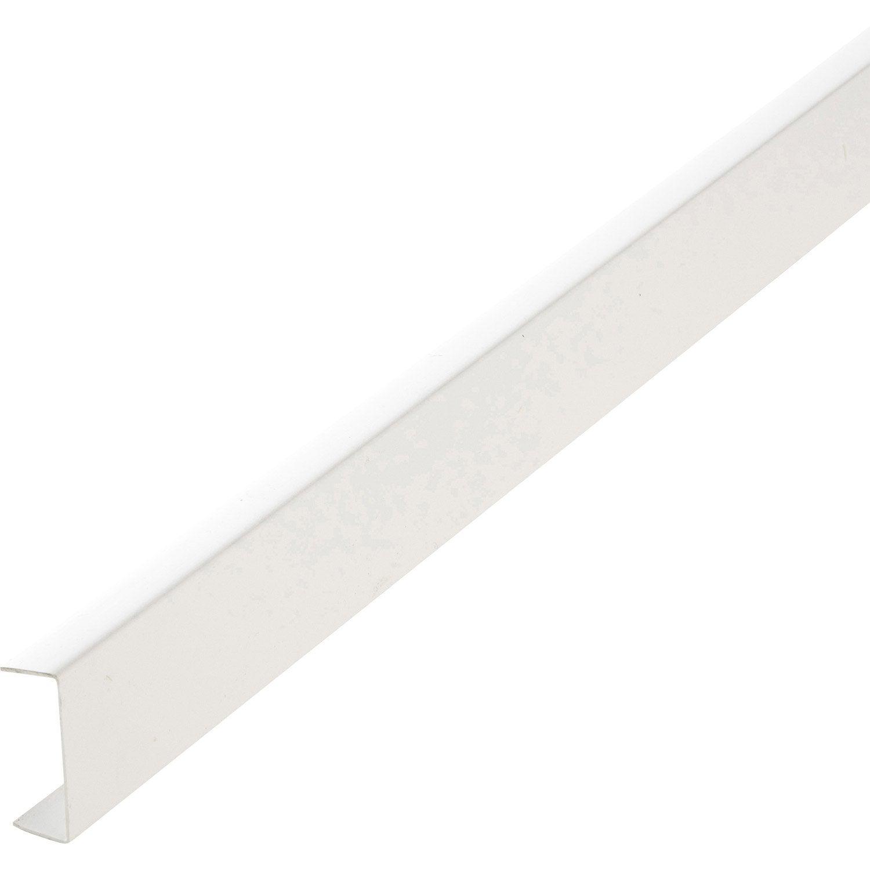 Nez de cloison pvc blanc 20 x 54 mm l 2 6 m leroy merlin - Cloison modulable leroy merlin ...
