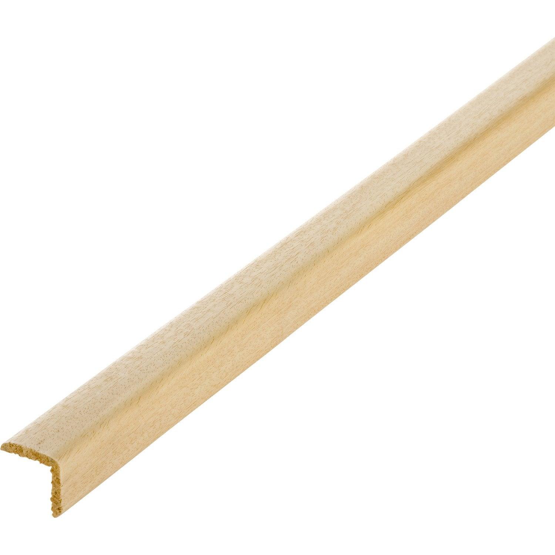 Baguette d 39 angle ayous sans noeud 35 x 35 mm l 2 4 m - Angle carrelage sans baguette ...