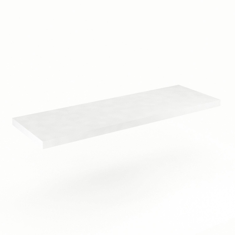 Plan de toilette Neo Line Panneau de particules 150 cm