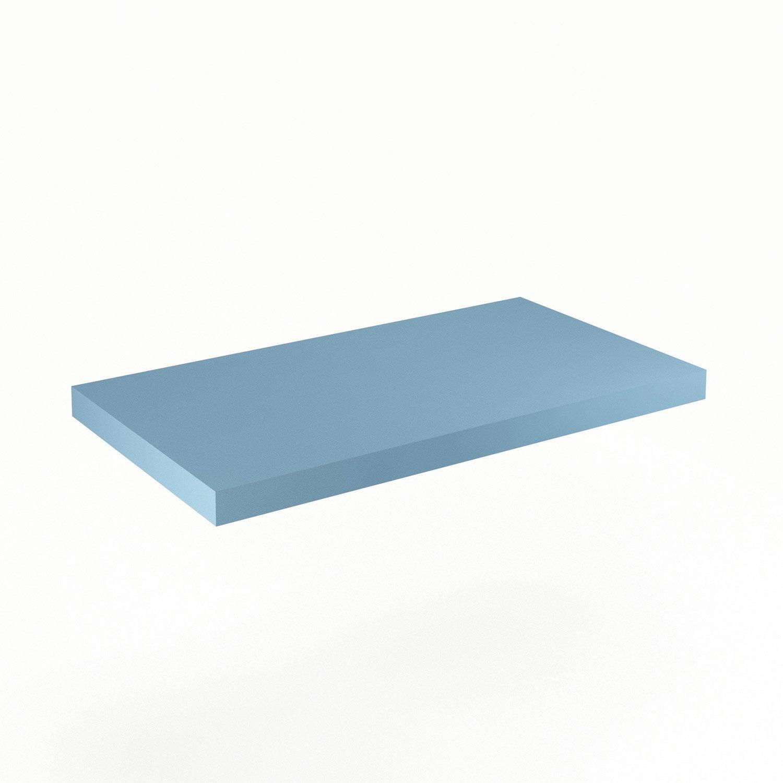 Plan de toilette Neo Line Panneau de particules 90 cm