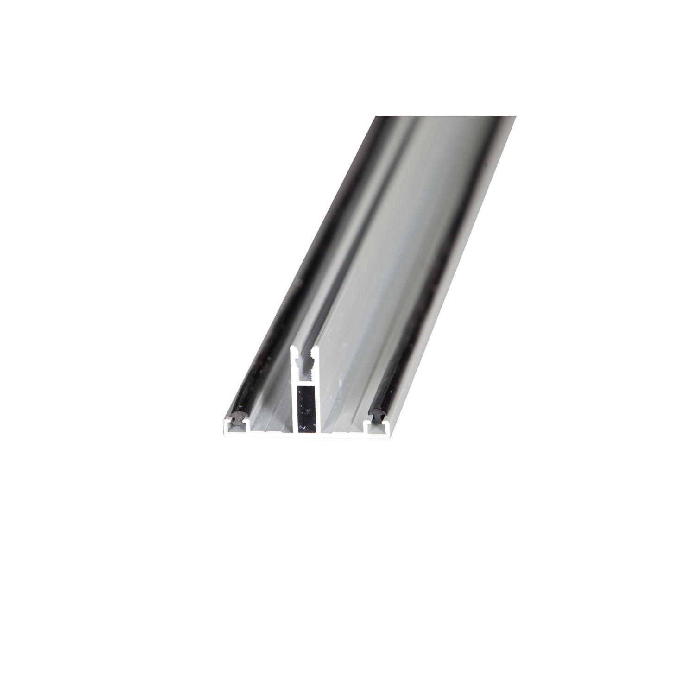 profil t sur mesure jonction pour plaque ep 32 mm blanc l 0 5 m leroy merlin. Black Bedroom Furniture Sets. Home Design Ideas