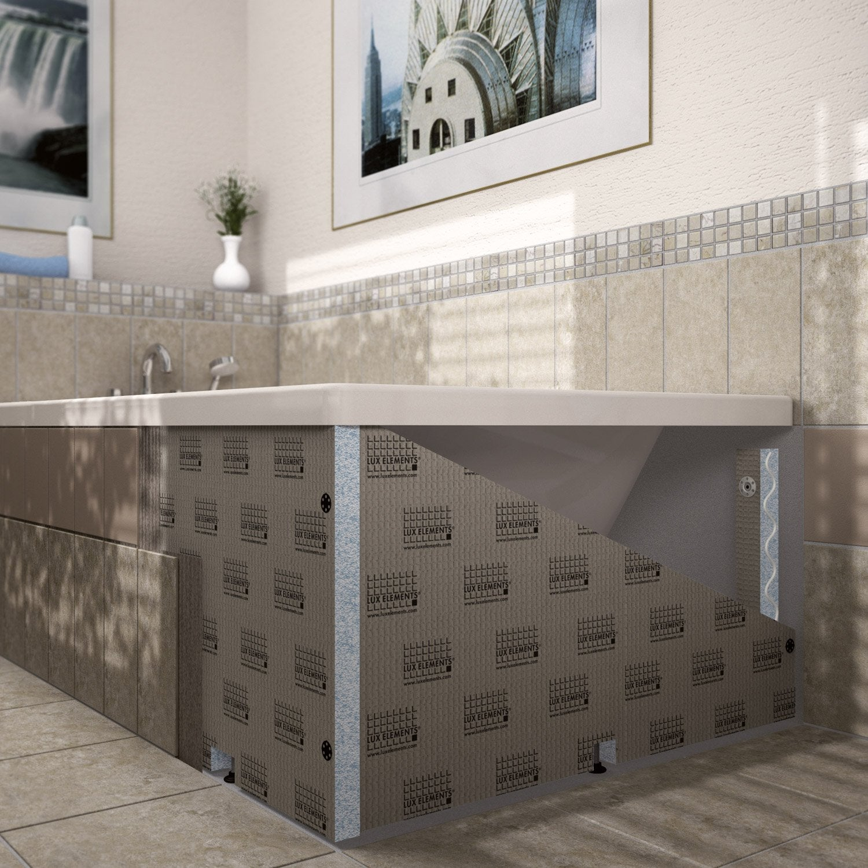 habillage de baignoire cm x cm lux elements leroy merlin. Black Bedroom Furniture Sets. Home Design Ideas