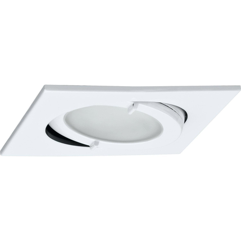 Elegant spot orientable encastrer salle de bain blanc paulmann leroy with spot a encastrer leroy - Spot encastrable leroy merlin ...