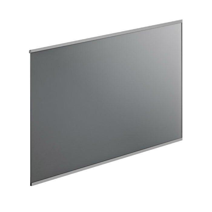 cr dence verre frozen gris cm x cm leroy merlin. Black Bedroom Furniture Sets. Home Design Ideas