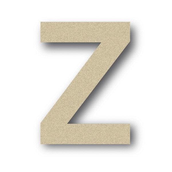 lettre bois majuscule z 6 cm x 6 cm leroy merlin. Black Bedroom Furniture Sets. Home Design Ideas