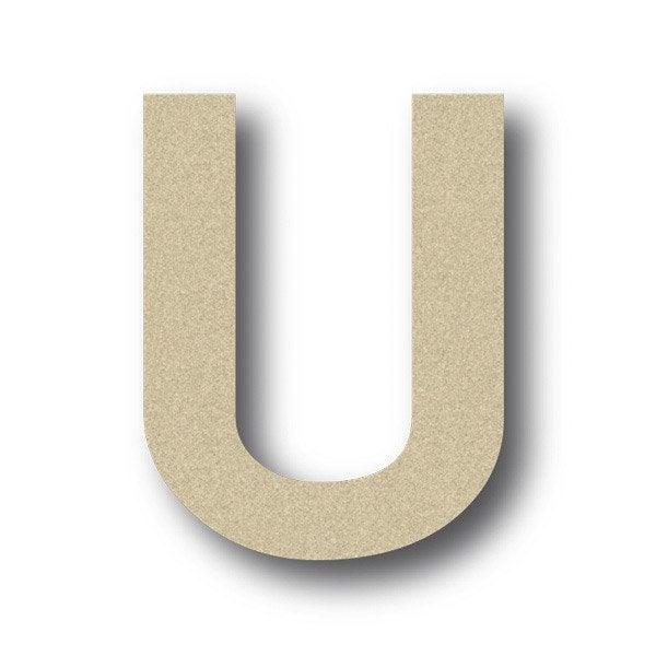 lettre bois majuscule u 6 cm x 6 cm leroy merlin. Black Bedroom Furniture Sets. Home Design Ideas