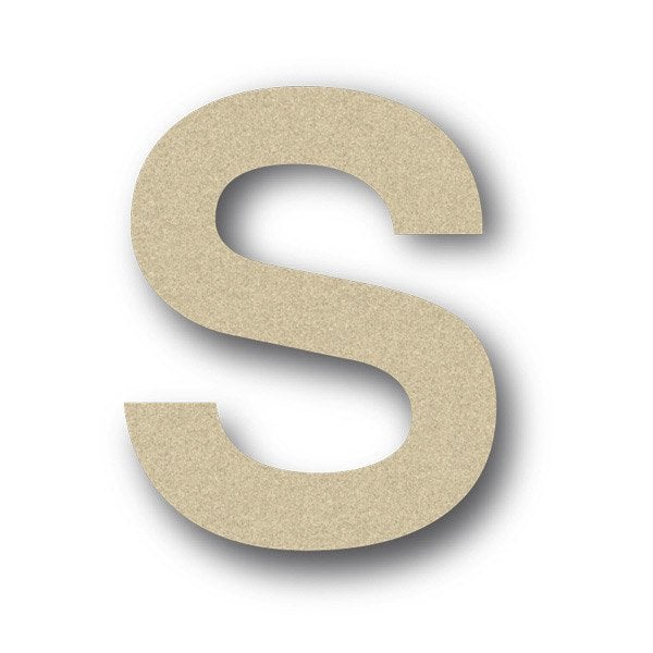 lettre bois majuscule s 6 cm x 6 cm leroy merlin. Black Bedroom Furniture Sets. Home Design Ideas