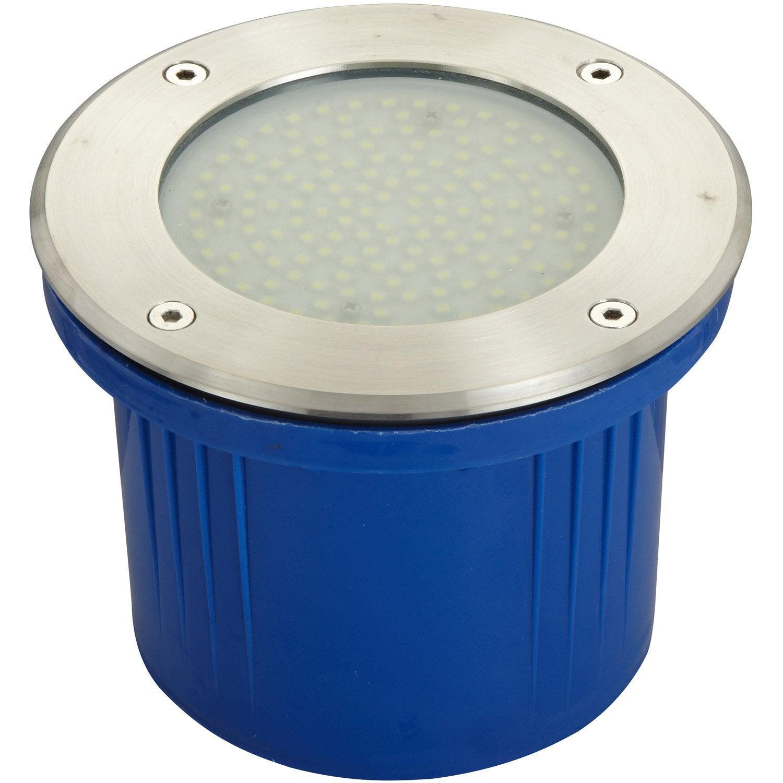 Spot enterrer ext rieur diam 17 cm acier inoxydable for Eclairage projecteur exterieur