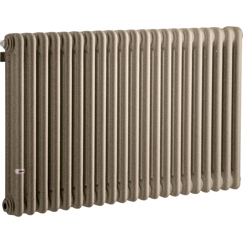 Radiateur chauffage central acier tesi 3 sunstone 1858w - Radiateur acier leroy merlin ...
