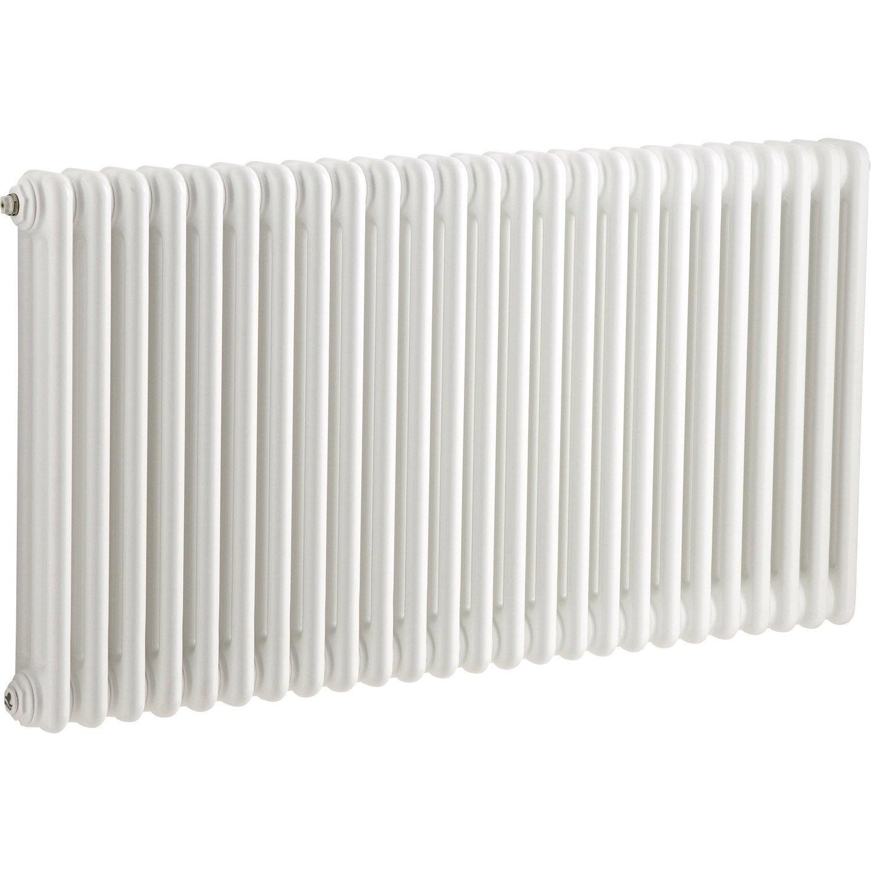 radiateur chauffage central acier tesi 3 blanc opaque. Black Bedroom Furniture Sets. Home Design Ideas