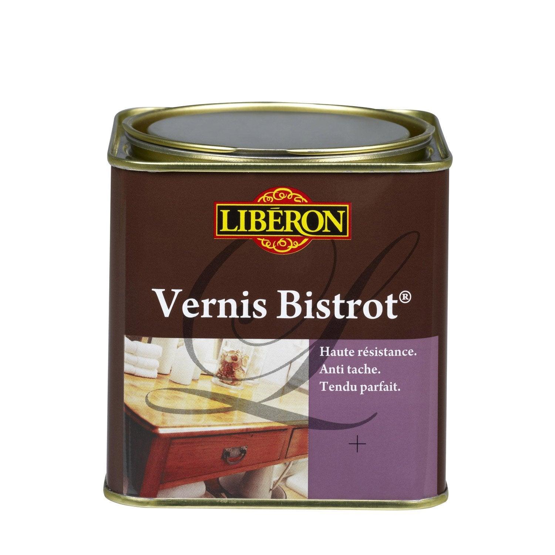 Vernis meuble et objets Bistrot LIBERON, 0 5 l, incolore Leroy Merlin # Leroy Merlin Vernis Bois