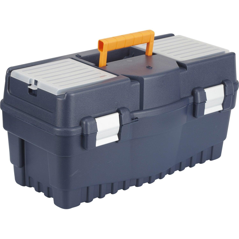 Bo te outils dexter en plastique 54 5 cm leroy merlin for Caisse rangement plastique leroy merlin
