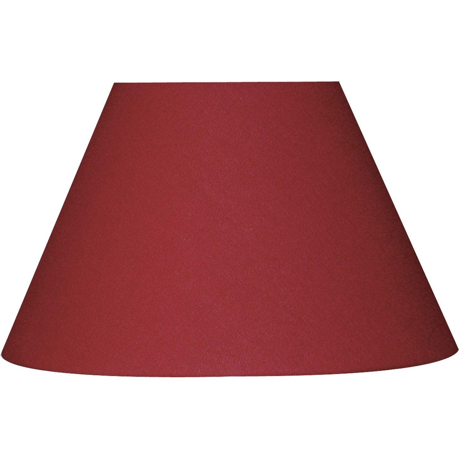 abat jour sweet 60 cm coton cerise leroy merlin. Black Bedroom Furniture Sets. Home Design Ideas
