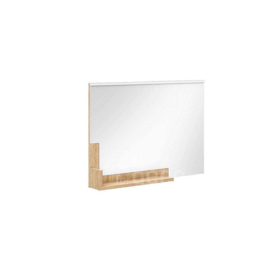 Miroir Avec Tablette Eden Leroy Merlin