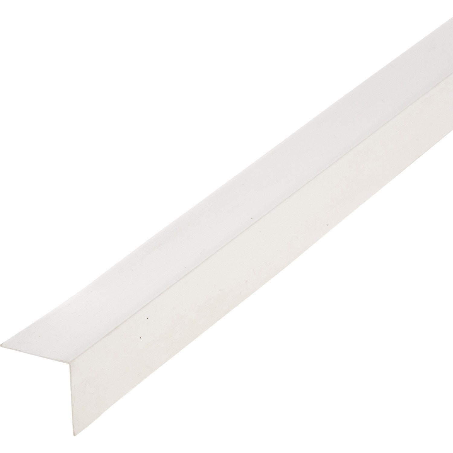Corni re pvc blanc 50 x 50 mm l 2 6 m leroy merlin for Montaggio finestre pvc leroy merlin