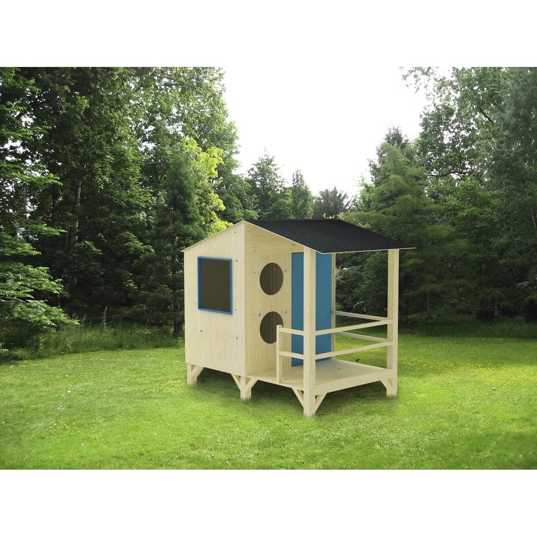 maisonnette bois plage m leroy merlin. Black Bedroom Furniture Sets. Home Design Ideas