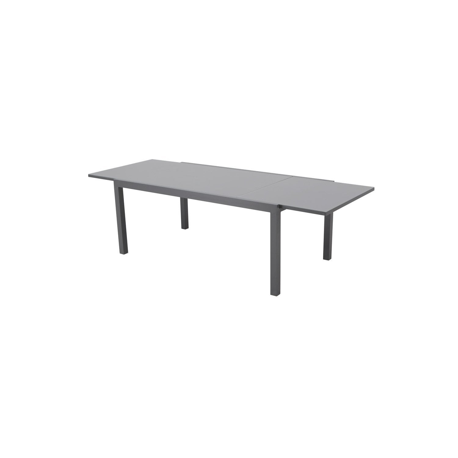table-de-jardin-naterial-lisboa-rectangulaire-gris-8-personnes Incroyable De Table Basse Gigogne Conforama