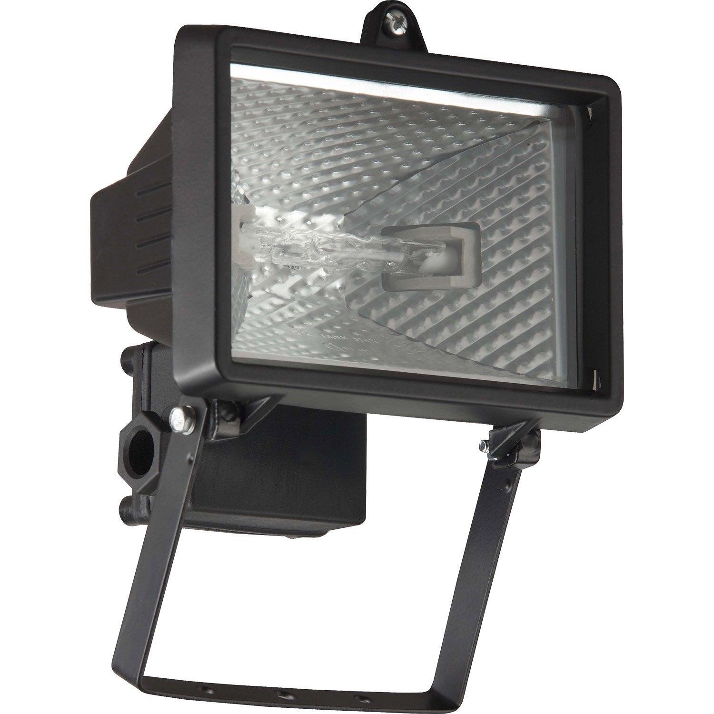 Projecteur fixer ext rieur tanko r7s 118 mm noir for Video projecteur exterieur