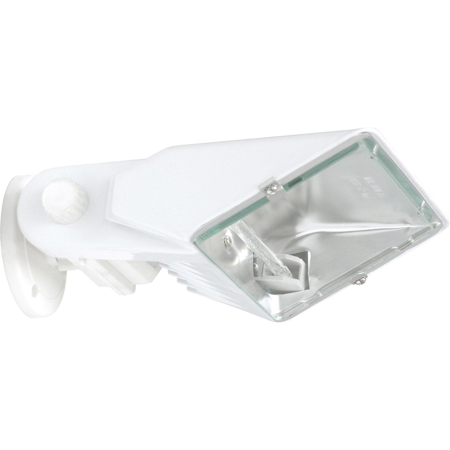Projecteur fixer ext rieur r7s 118 mm 300 w blanc for Halogene exterieur