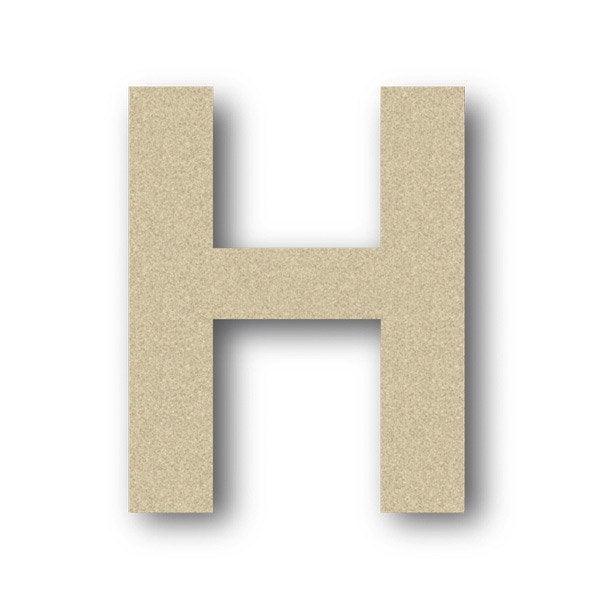 Lettre bois majuscule h 6 cm x 6 cm leroy merlin - H en majuscule ...