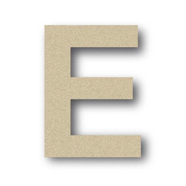 lettre bois majuscule e 6 x 6 cm leroy merlin. Black Bedroom Furniture Sets. Home Design Ideas