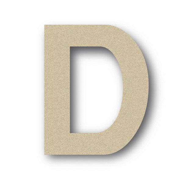 Lettre bois majuscule d 6 cm x 6 cm leroy merlin - Pot en 3 lettres ...