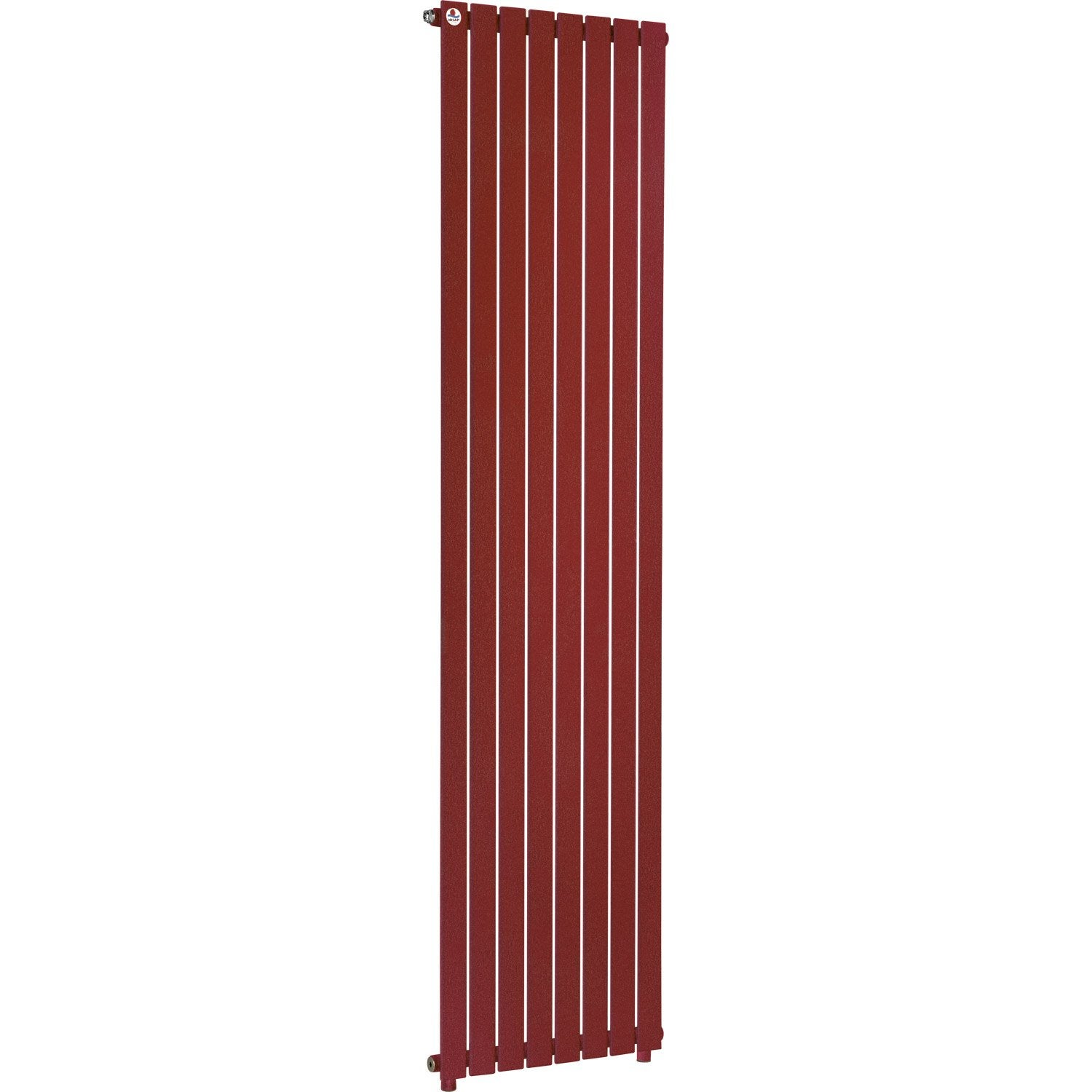 Radiateur chauffage central piano rouge cm 1099 w for Chauffage exterieur leroy merlin