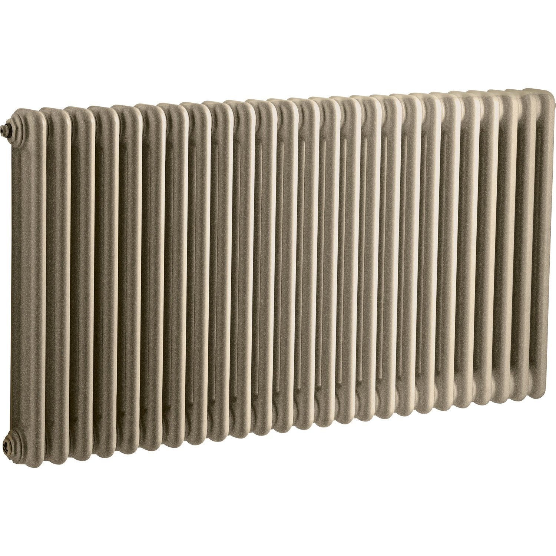 radiateur chauffage central acier tesi 3 sunstone 1515w leroy merlin. Black Bedroom Furniture Sets. Home Design Ideas