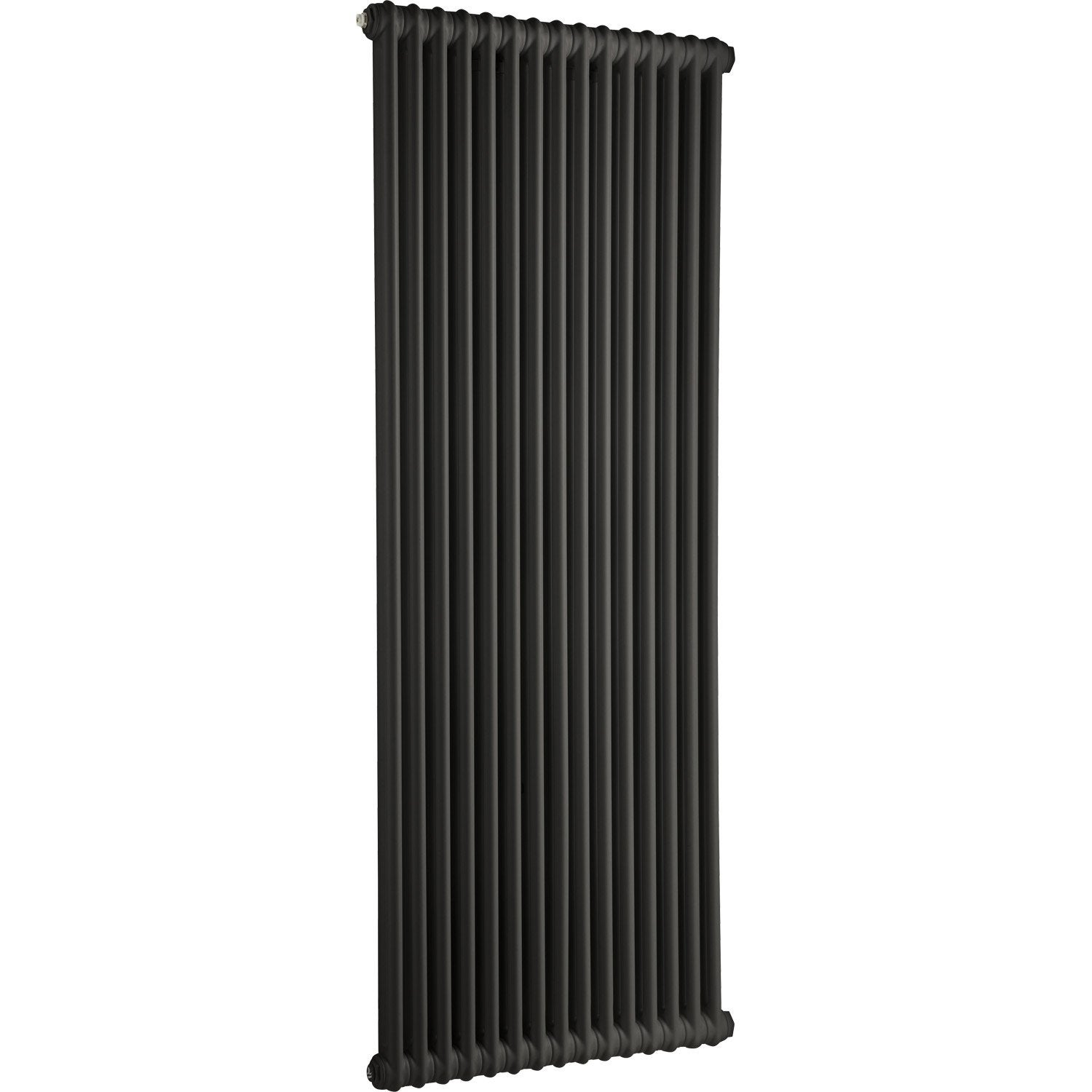 radiateur chauffage central acier tesi 2 noir 1864w. Black Bedroom Furniture Sets. Home Design Ideas