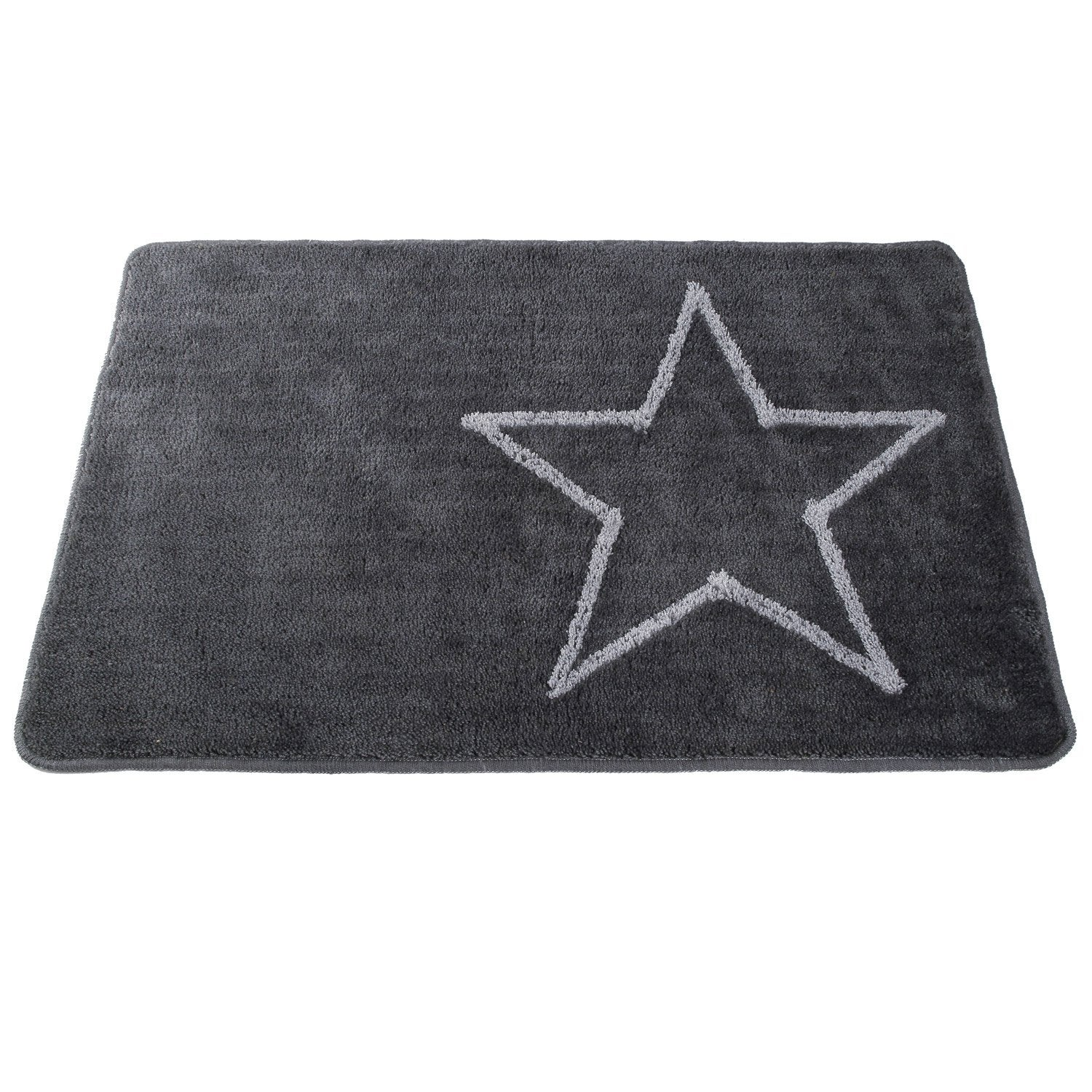 tapis de bains wake up star 85 x 55 cm leroy merlin. Black Bedroom Furniture Sets. Home Design Ideas