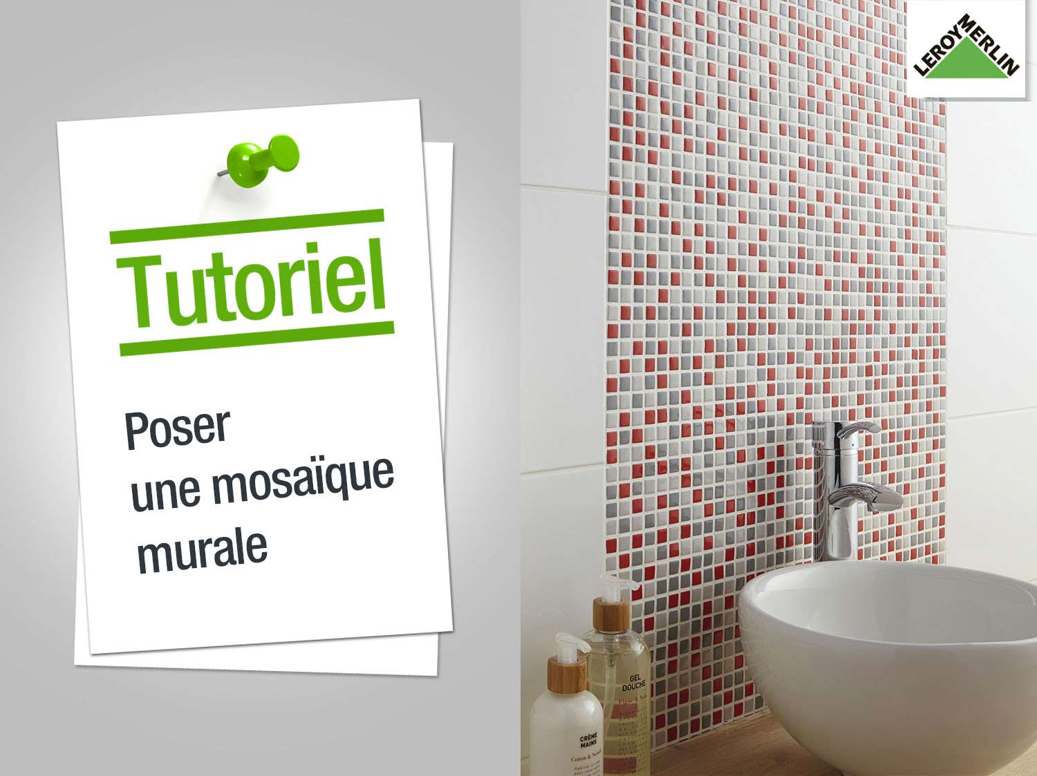 Comment poser une crdence en inox excellent attrayant for Mosaique murale cuisine