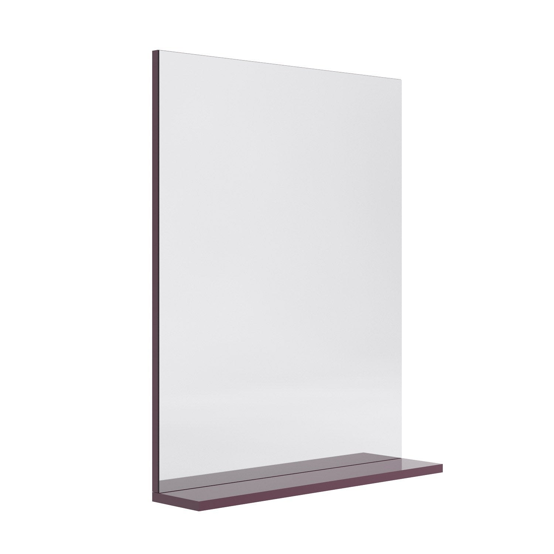 Miroir salle de bain avec tablette et clairage fashion for Miroir leroy merlin salle de bain