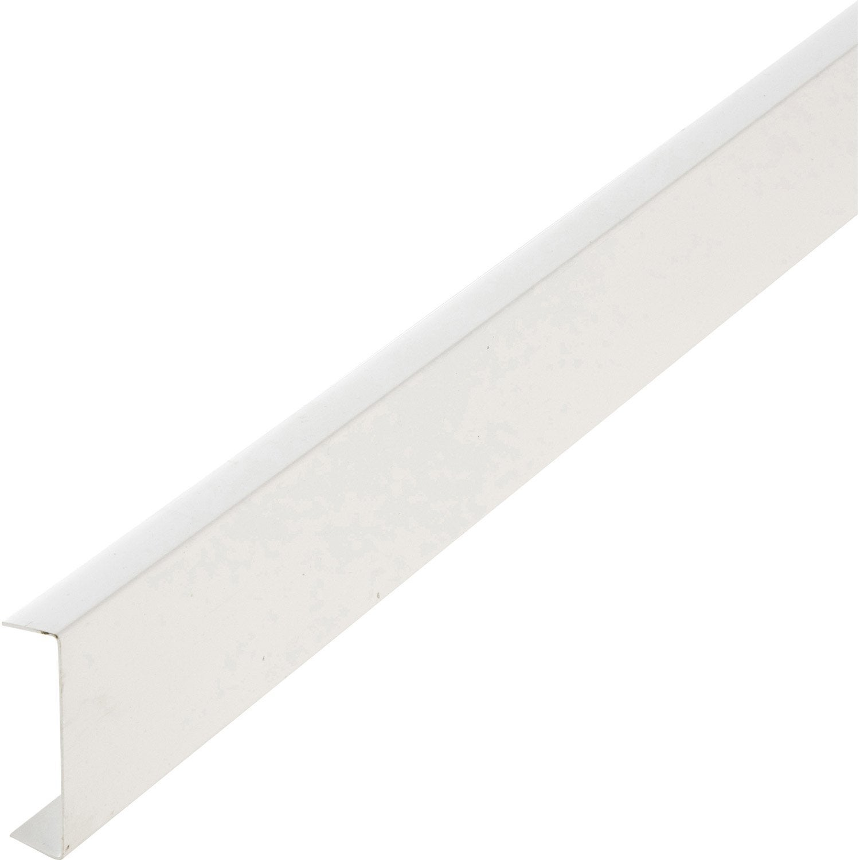 Nez de cloison pvc blanc 20 x 74 mm l 2 6 m leroy merlin - Nez de cloison bois ...