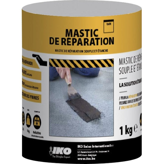 mastic de r paration noir aquaplan 1 kg leroy merlin. Black Bedroom Furniture Sets. Home Design Ideas