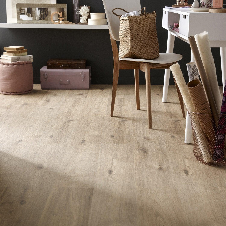 sol stratifi effet ch ne avoriaz ep 7 mm artens basics 7 leroy merlin. Black Bedroom Furniture Sets. Home Design Ideas