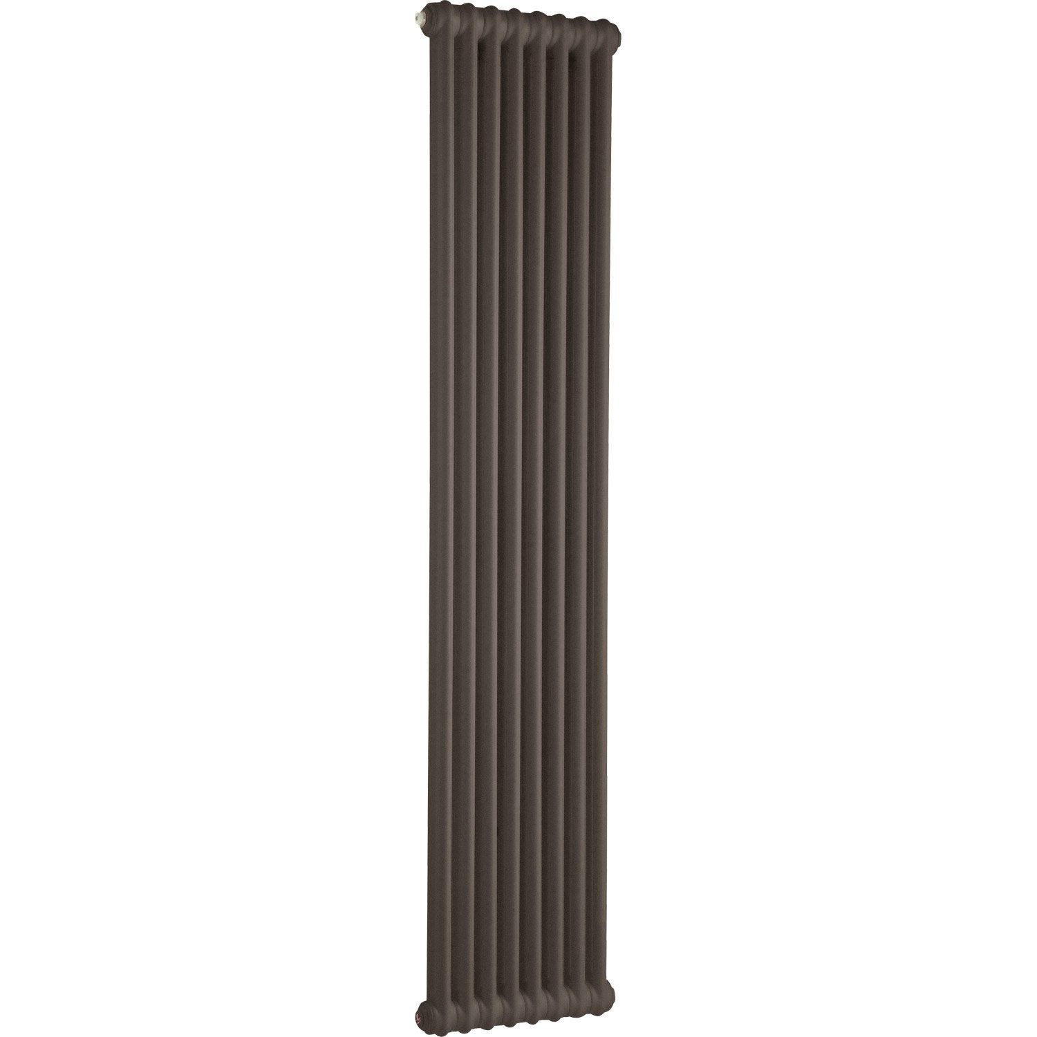 radiateur chauffage central acier tesi 2 tabac 994w leroy merlin. Black Bedroom Furniture Sets. Home Design Ideas