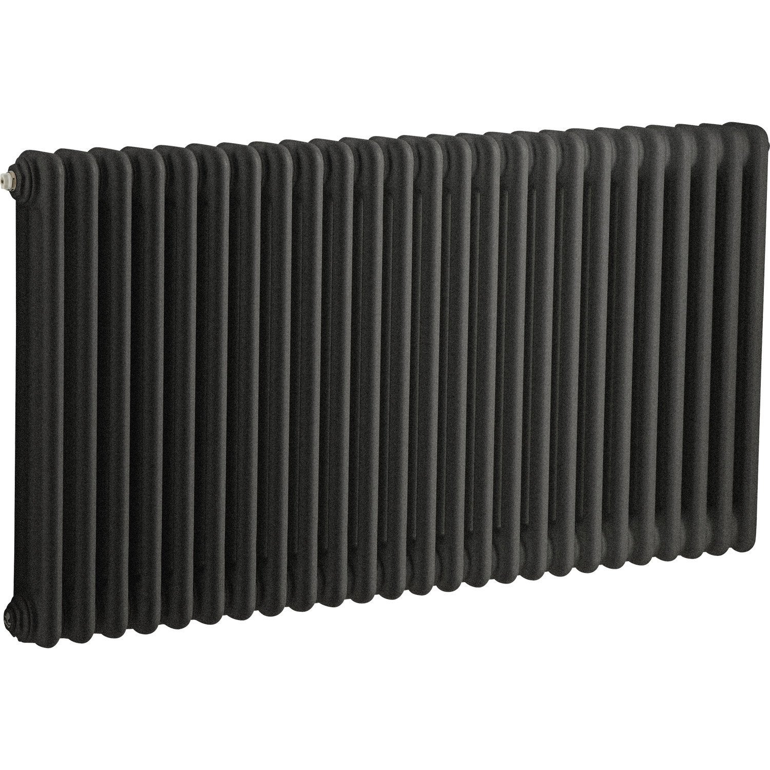 radiateur chauffage central tesi noir cm 1515 w leroy merlin. Black Bedroom Furniture Sets. Home Design Ideas