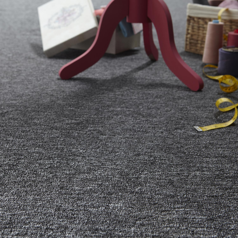 moquette boucl e rapid anthracite 4 m leroy merlin. Black Bedroom Furniture Sets. Home Design Ideas