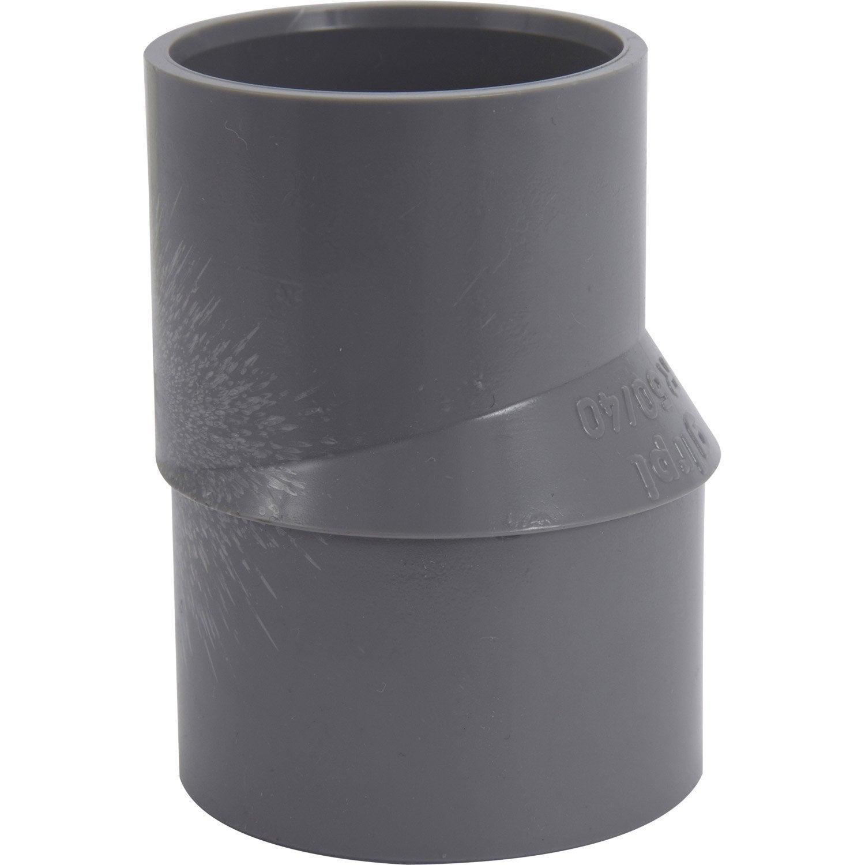 r duction excentr e en pvc coller femelle m le d50. Black Bedroom Furniture Sets. Home Design Ideas
