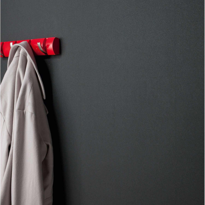 Papier Peint Gris Noir Triangle Leroy Merlin  Papier peint Lisse mat