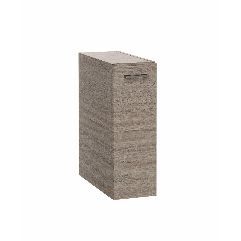 caisson meuble bas sensea remix imitation chene. Black Bedroom Furniture Sets. Home Design Ideas