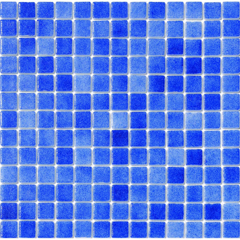Mosa que cobalt blue bleu fonc 2 5 x 2 5 cm leroy merlin - Mosaique adhesive leroy merlin ...